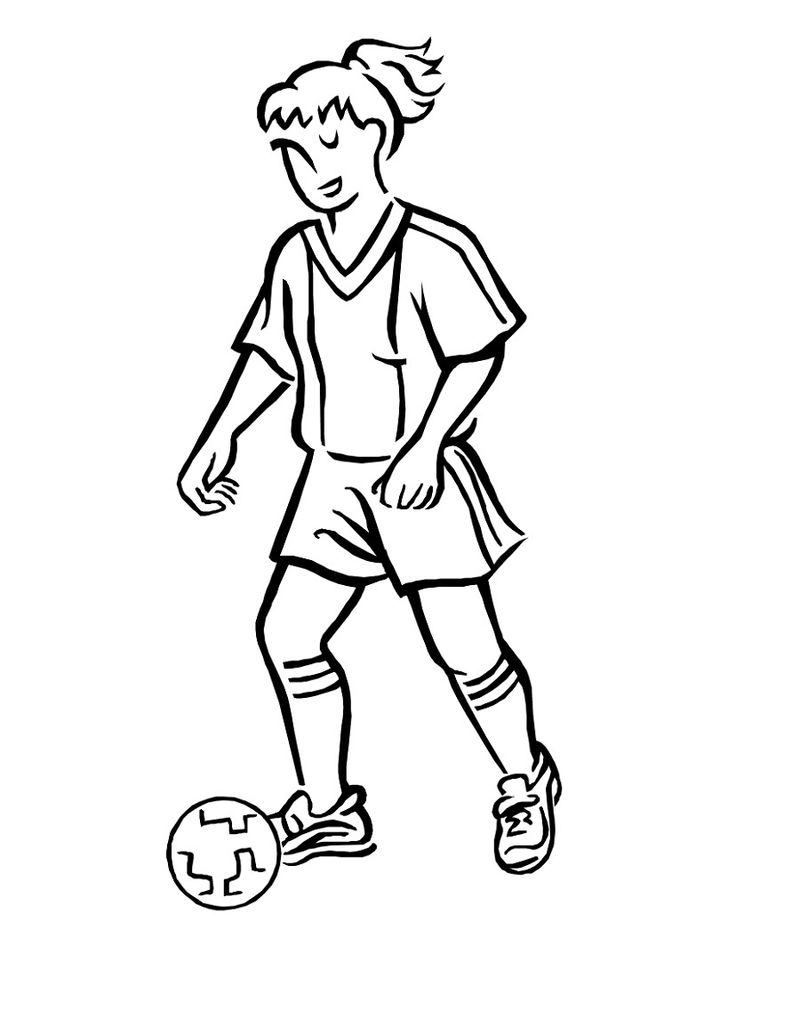 Free Football Coloring Pictures Fun
