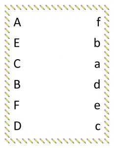 Free kindergarten worksheets alphabet