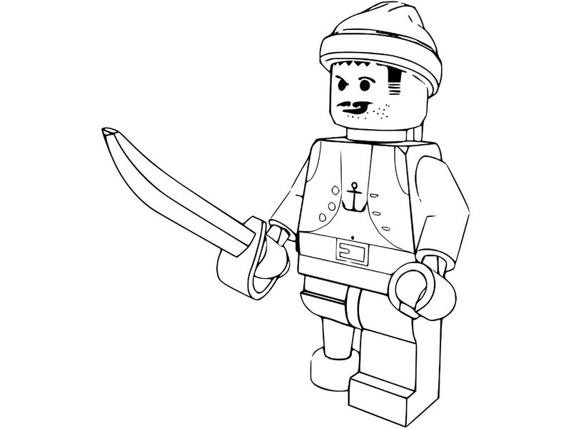 Free Lego Coloring Pages To Print 001