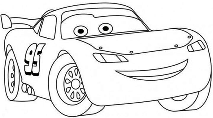 Free Lightning Mcqueen Coloring Pages For Kids