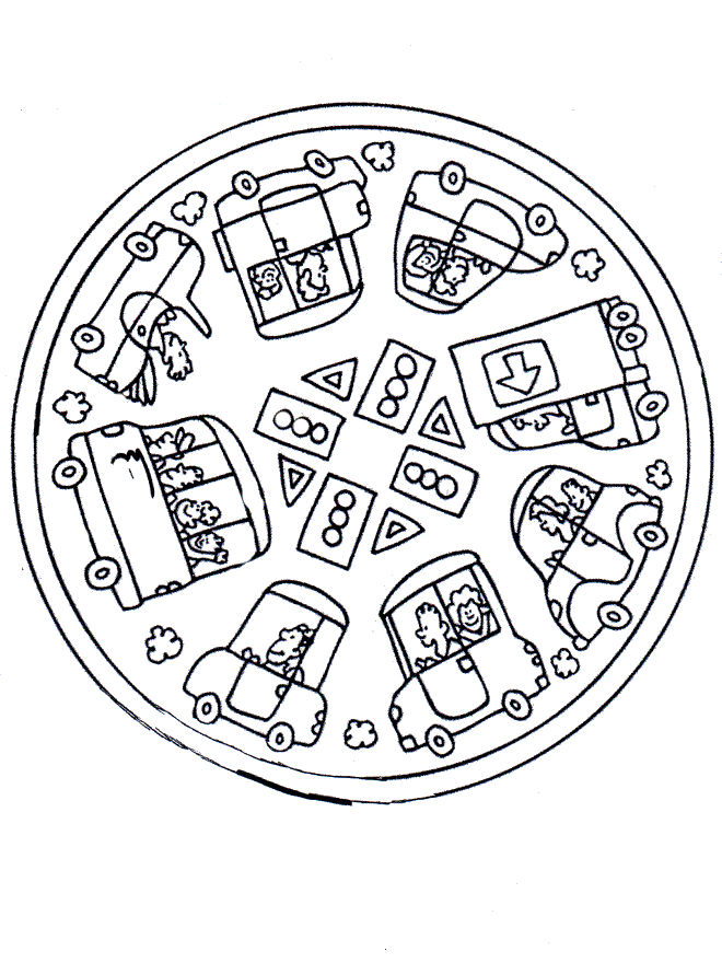 Free Mandalas For Kids To Color
