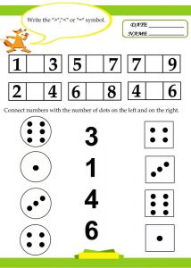 Free math worksheets for kids printable