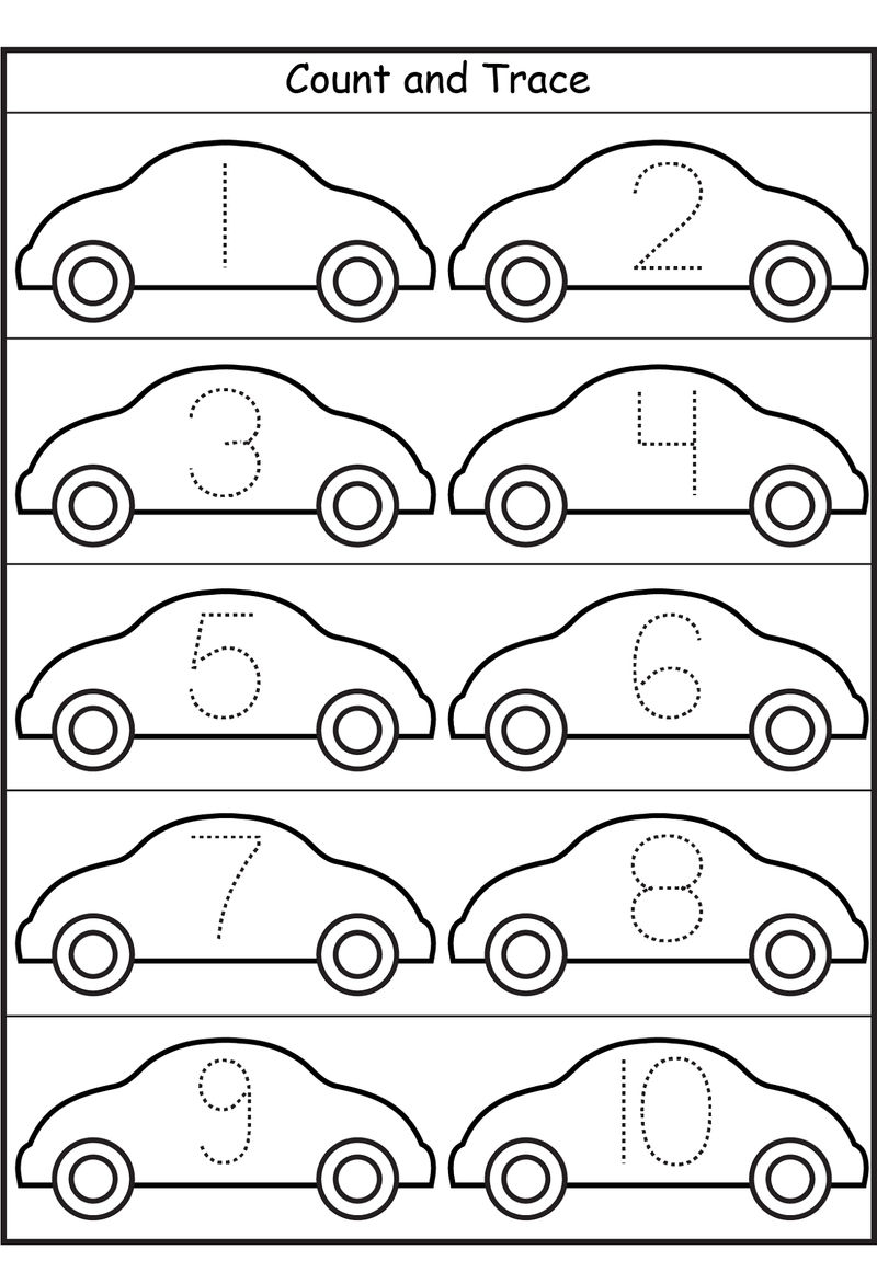 Free Number Worksheets For Tracing