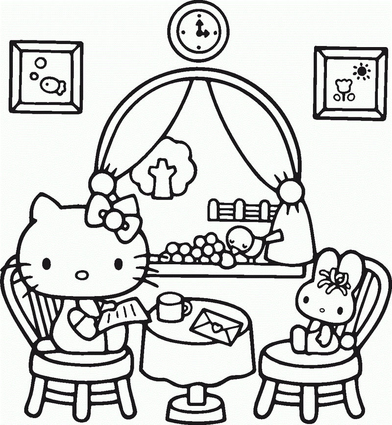 Free Online Coloring Children