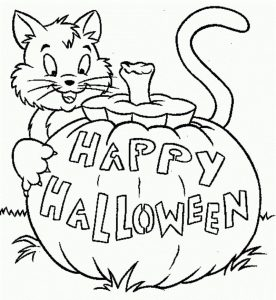Free online printable coloring pages halloween