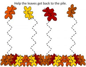 Free preschool printables fall