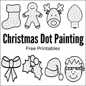 Free printable activities for preschoolers christmas 1