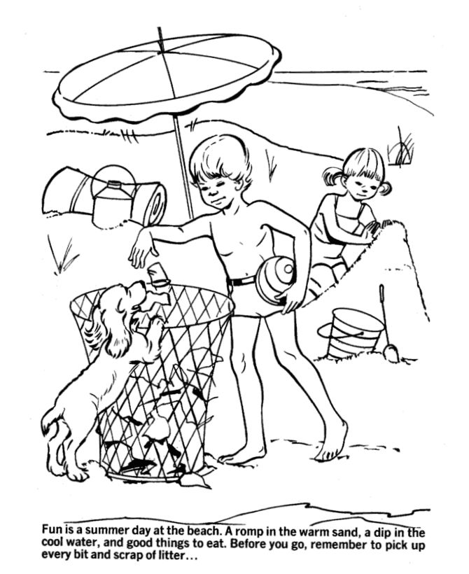 Free Printable Beach Coloring Pages For Kids 001
