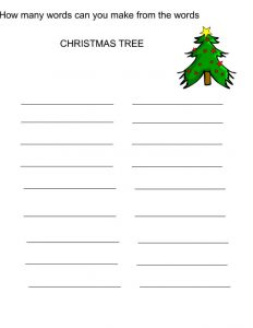 Free printable games for adults christmas