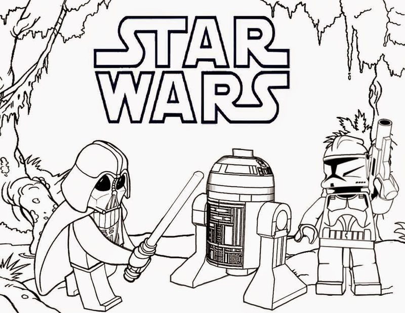 Free Printable Lego Star Wars Coloring Pages 001
