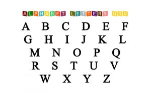 Free printable letters for kids