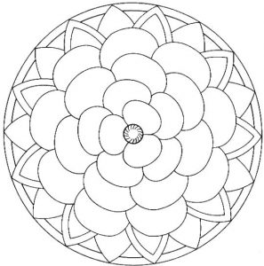 Free printable mandalas for kids