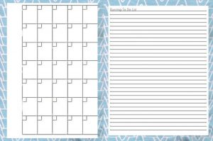 Free printable planner pages to do list 001
