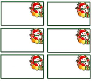 Free printable templates christmas name tags 001