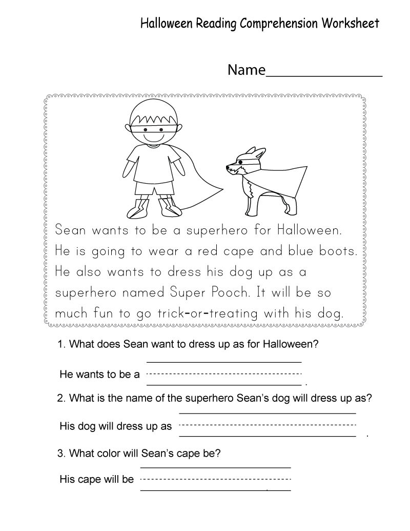 Free Printable Worksheets For Kids Reading