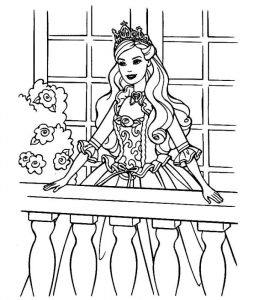 Free rapunzel coloring pages