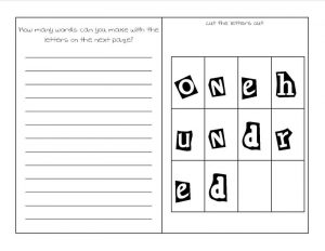 Free school worksheets for 2nd grade