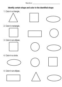 Free shapes worksheets to print 001