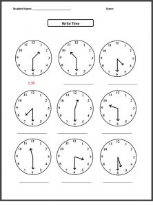 Free third grade math worksheets elapsed time