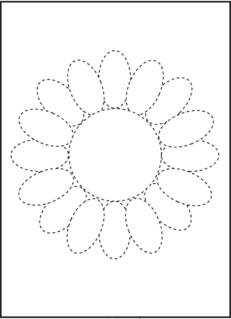 Free Traceable Worksheets For Kids 001