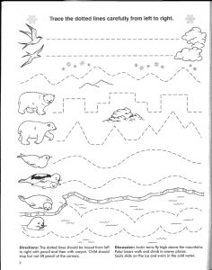 Free traceable worksheets pre k