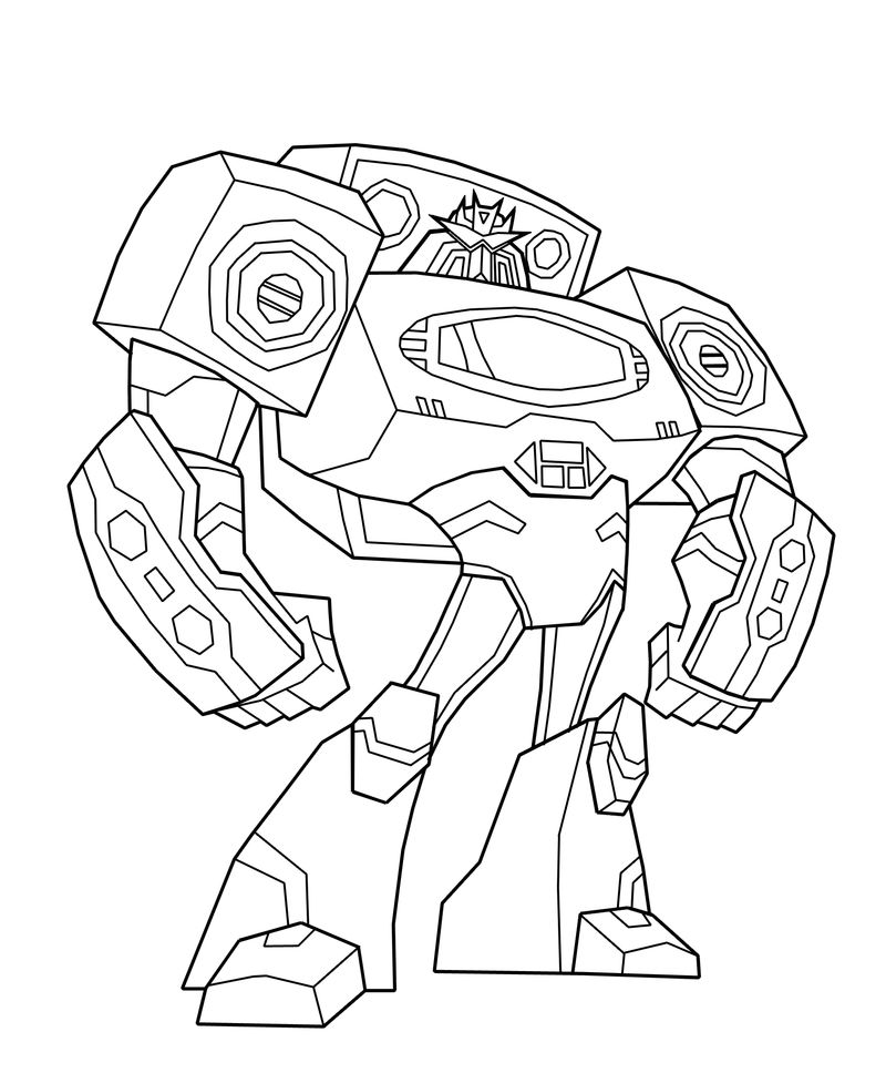 Free Transformers Coloring Page To Print