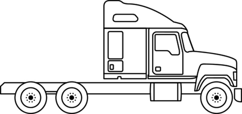 Free Truck Coloring Pages Printable