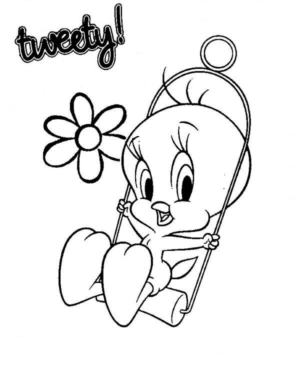 Free Tweety Bird Coloring Pages Coloring Sheets