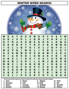Free word searches for kids large