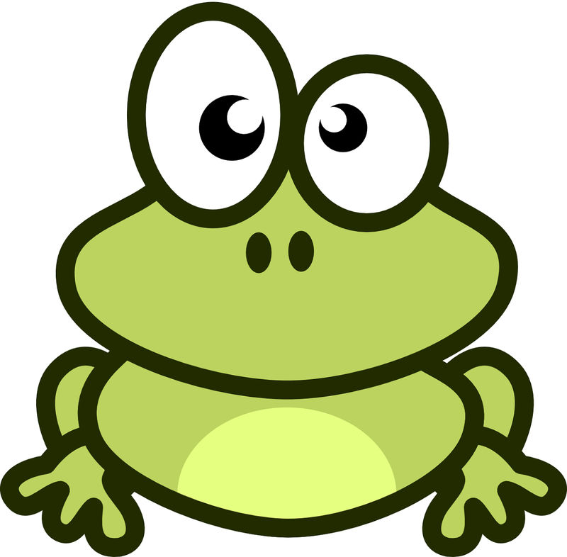 Frog Pictures For Kids Cartoon