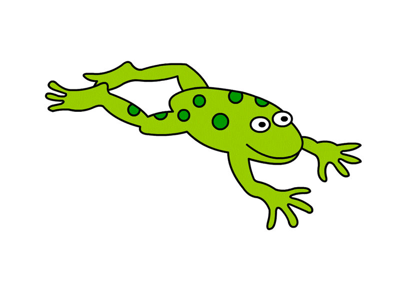 Frog Pictures For Kids Simple