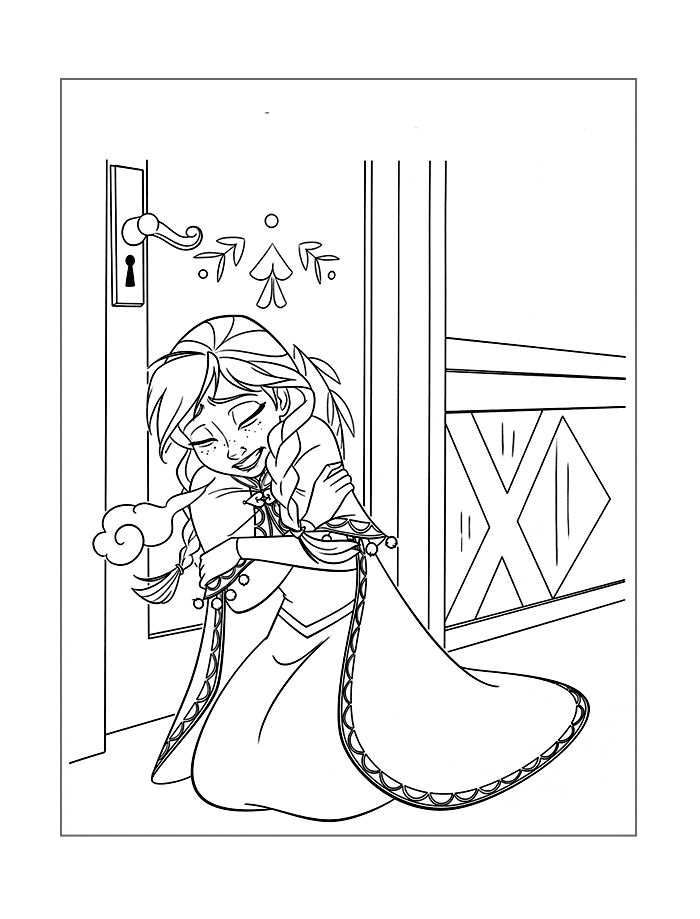 Frozen Coloring Free Download