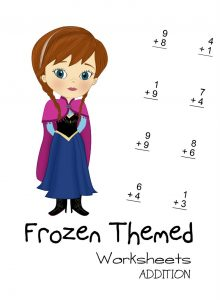 Frozen worksheet math 001