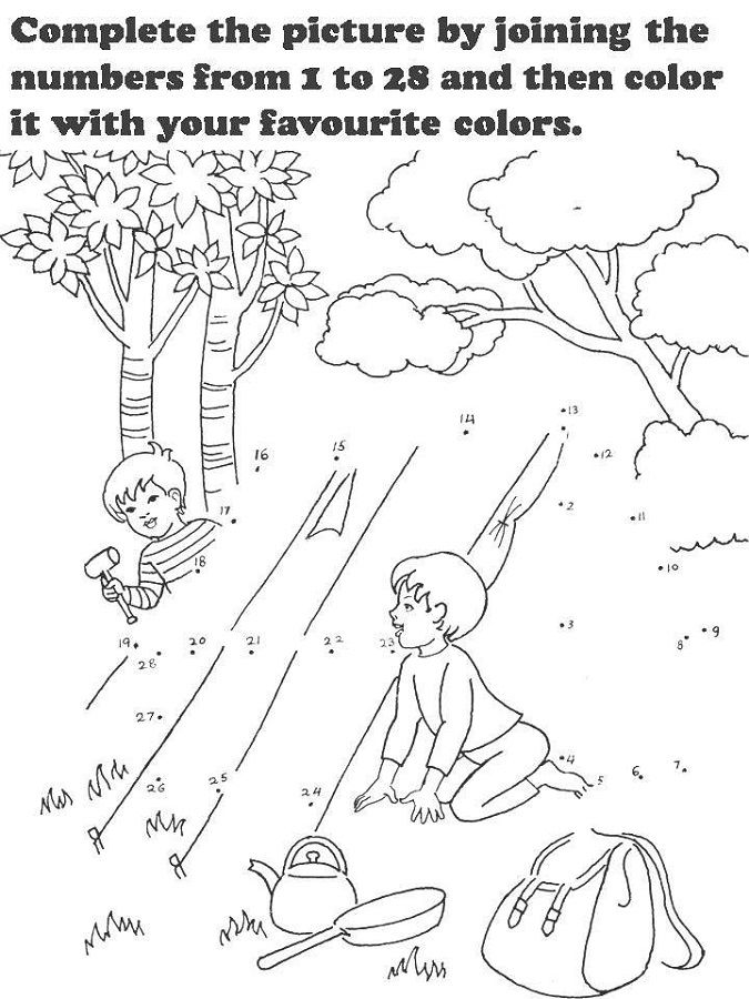 Fun Activity Worksheets For Kids Free