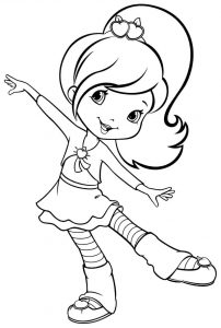 Fun coloring pages for girls 001