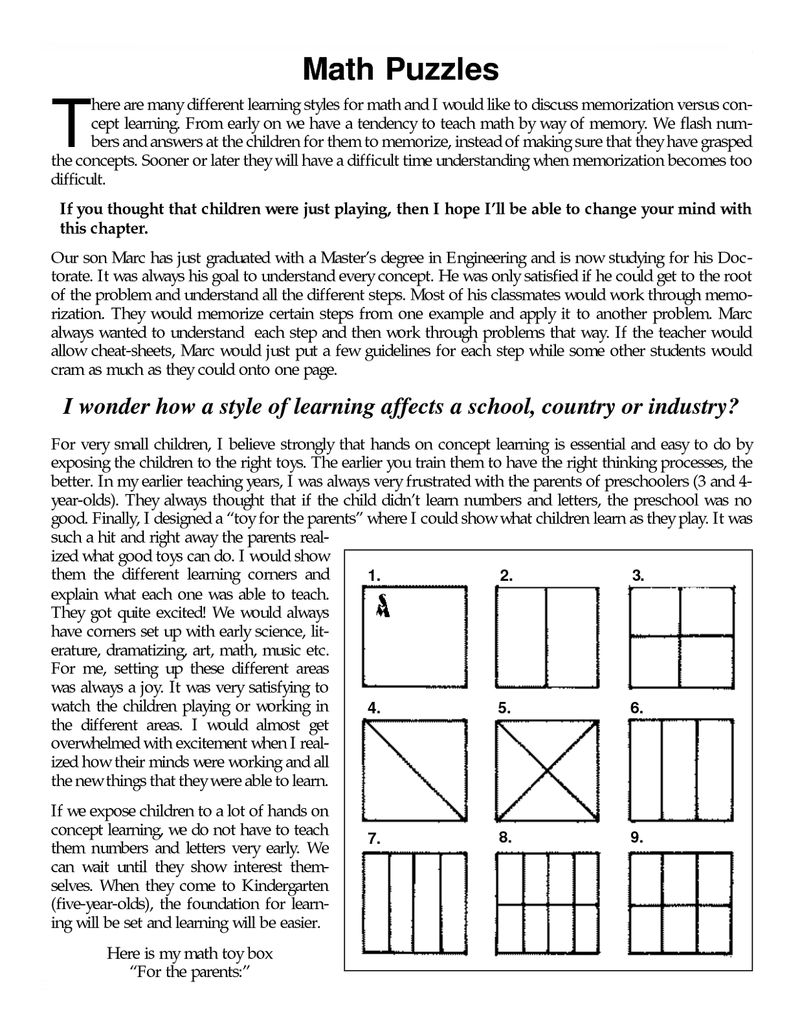 Fun Math Worksheets For Middle School Printable