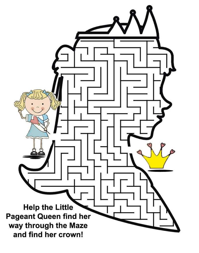 Fun Mazes For Kids Queen