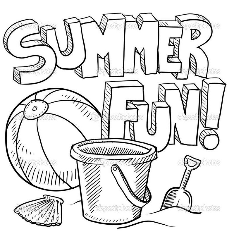 Fun Pages For Kids Summer Fun
