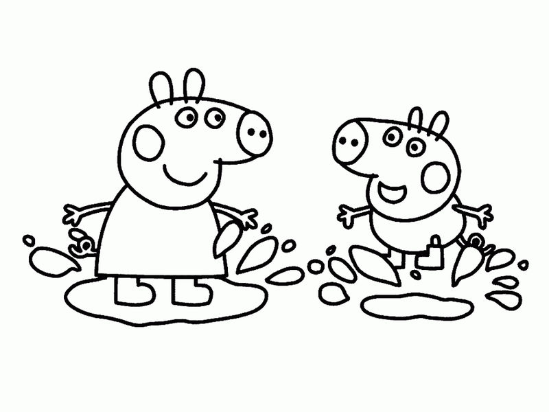 Fun Peppa Pig Coloring Pages