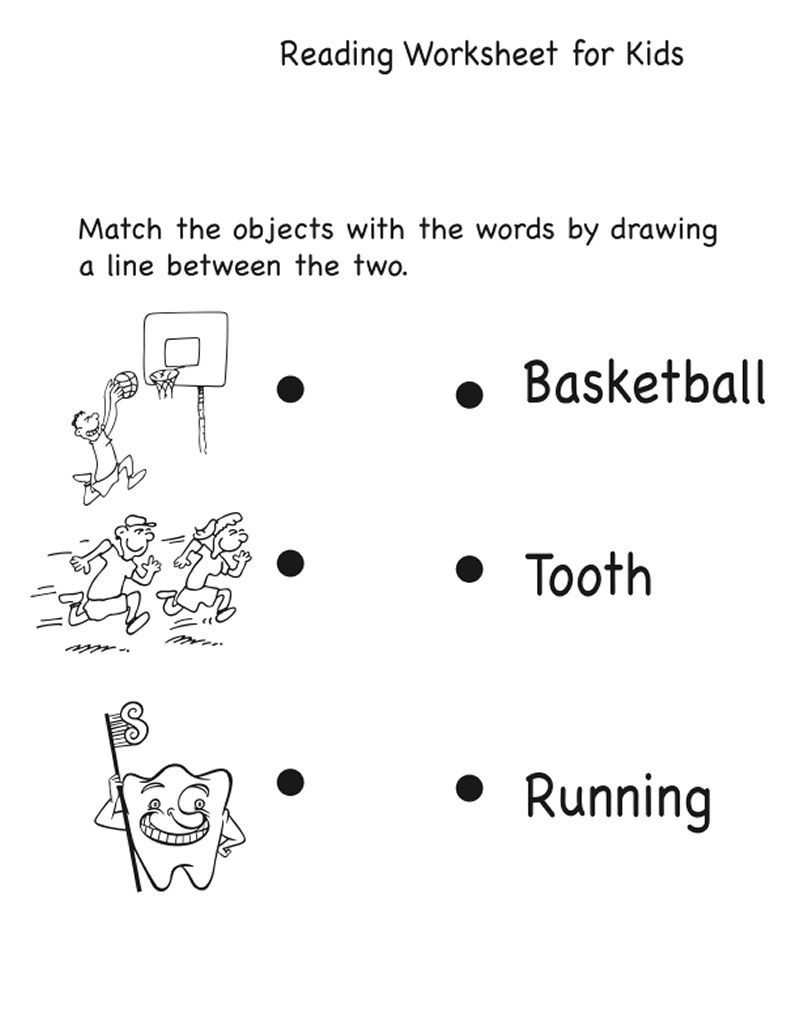 Fun Worksheets For Kids Easy