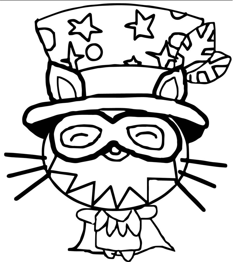 Furnando Moshi Monsters Coloring Page