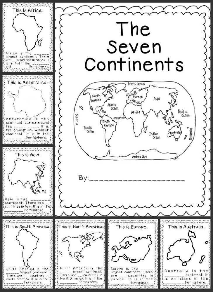 Geography Worksheets For Kids