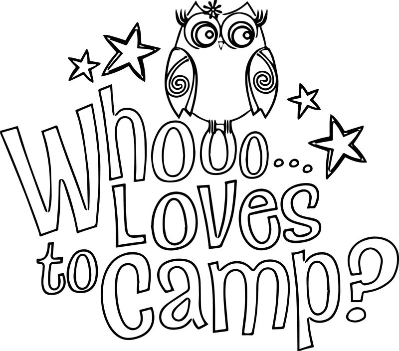 Girl scout brownie art free gswny troop camping coloring page