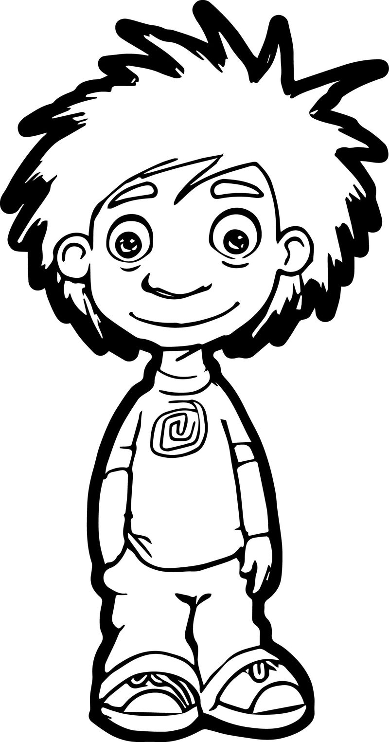 Good Child Coloring Page