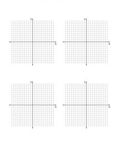 Graph paper worksheets printable 1