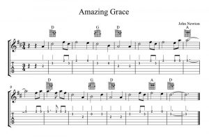 Guitar chords for amazing grace 5 002
