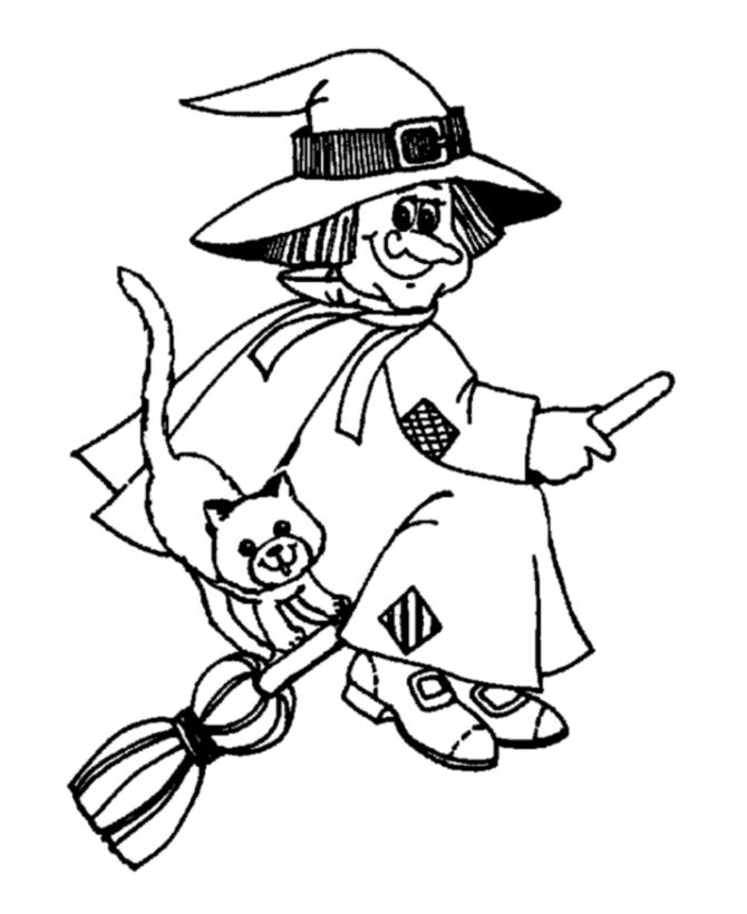 Halloween Coloring Pages For Kids Printable