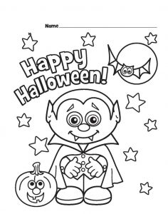 Halloween coloring pages printable dracula