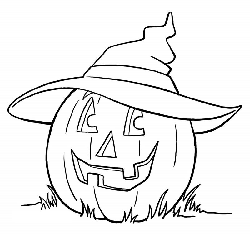 Halloween Coloring Pages Printable To Free Printable 1