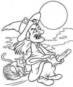Halloween coloring sheets fun